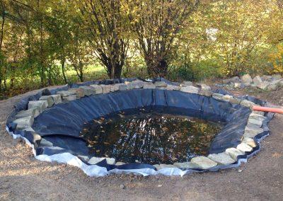 TAUPADEL Garten- und Grabpflege - Teichbau