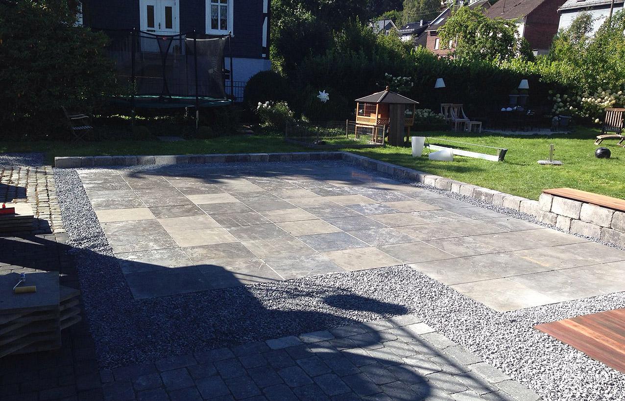 TAUPADEL Garten- und Grabpflege - Garten und Sitzflächen