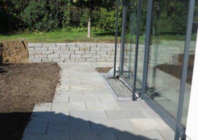 TAUPADEL Garten- und Grabpflege - Terassenaufbau / Natursteinplatten